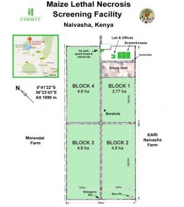 Naivasha screenining site map